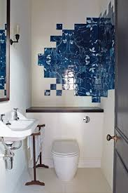 Unusual Blue Bathroom Tiles Bathroom Design Ideas Images