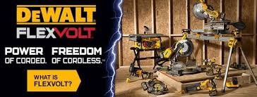 dewalt flexvolt logo. dewalt\u0027s® line of flexvolt™ cordless tools and batteries cover multiple applications, including cutting, drilling dewalt flexvolt logo