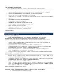 Cv Key Strengths Kordurmoorddinerco Unique Strengths For A Resume