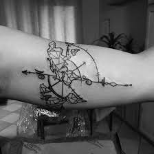 Tattoo Uploaded By Autumn Reza Compass With World Map World