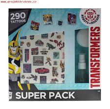 Vhodné Pro Děti Hračky Kluky Tetování Transformers Sada Lqwzasul
