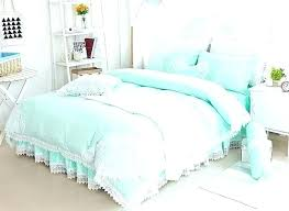 mint green baby bedding sets princess style lace edging cotton 4 purple crib colored sheet