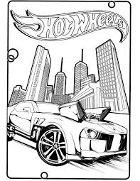 Colorings co hot wheels colouring page
