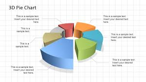 Pie Graph Template 3d Pie Chart Diagram For Powerpoint