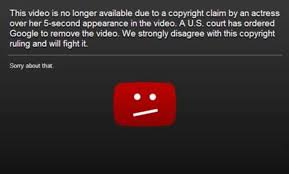 Copyright Infringement Youtube Ordered To Remove Anti Islamic Film Due To Copyright