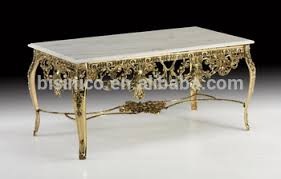 marble and brass coffee table. Antique French Gold Plated Brass Coffee Table, Rococo Style Copper Carved Marble And Table
