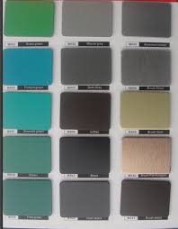 Acp Colour Chart Ral Color Chart Decoration Insulated Aluminum Panels