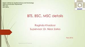 what does bsc stand for pdf bts bsc msc details