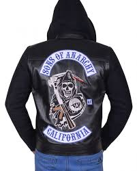 sons of anarchy hoo jacket
