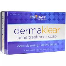 Enzymatic Therapy Face <b>Soap Dermaklear Acne Treatment</b>