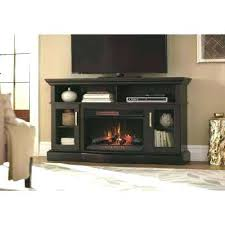 black fireplace tv stand black electric fireplace stand classicflamegothamstandwithelectricfireplace