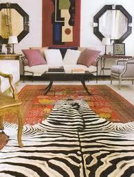 faux zebra rug hbocsm com for idea 2