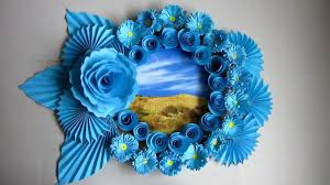 diy easy photo frame tutorial birthday gift idea 63 room decoration made with color paper