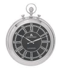 bond street london pocket watch hanging round metal wall clock decor 27876