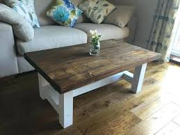 chunky wood coffee table chunky country style coffee table solid wood dark oak stain top chunky