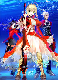 Image result for انیمه Fate/Extra Last Encore
