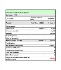 Balance Sheet Format 21 Free Pdf Documents Download
