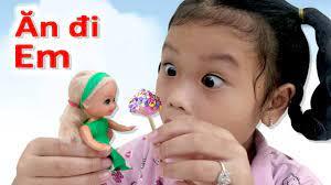 Trò Chơi Làm Kẹo Mút Cho Búp Bê Barbie ❤SuSi Review TV❤ - YouTube