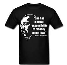 Martin Luther King Shirt Design Us 12 06 5 Off 2019 New Fashion Casual Men T Shirt Martin Luther King Jr Quote Moral Responsibility Laws Graphic Tee Shirt T Shirt In T Shirts From