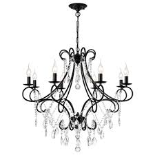 Black And Gold Light Fixture Bathroom Us 94 08 51 Off Luxury Modern Gold Black Iron E14 Led K9 Crystal Chandelier Lighting Fixtures For Loft Staircase Living Room Bathroom Home Lamp In