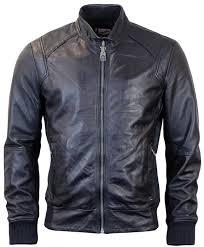 corbin pepe jeans retro mod leather er jacket