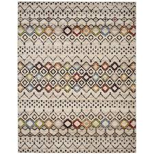 safavieh amsterdam huron ivory indoor lodge area rug common 10 x 14 actual