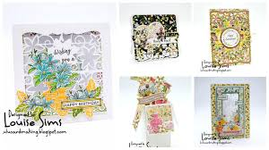 Tonic Studios Design Collection Magazine Louise Sims Papercrafter Launch Of Tonic Studios Magazine 5