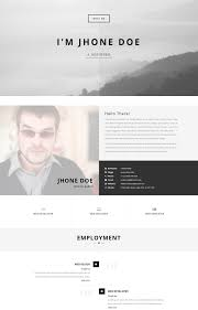 Resume Website Template Resume Web Template Wordpress Fresh Top 100 Resume Website 45