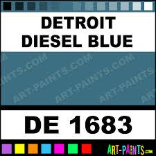 Detroit Diesel Blue Engine Enamel Paints De 1683 Detroit