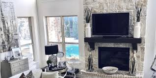 clean fireplace stone