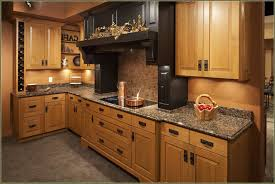 L Shaped Kitchen With Mission Style Cabinet Doors Choosing The