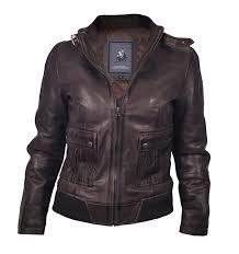 collezione lamborghini las leather jacket