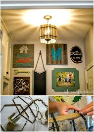 cute diy paint stick chandelier with stick chandelier