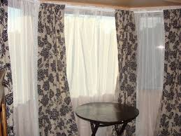 Lovely Bay Window Curtain Rod   Drapery Rods For Wide Windows Awesome Bow Window  Curtains Bay Window
