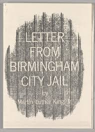 Analysis Of The Letter From Birmingham Jail Sunny Qin