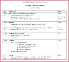 Agenda Samples In Word Best Board Meeting Notice Format As Per Companies Act Of Agenda Template