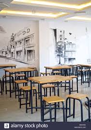inspirational design ideas cafe wall art layout minimalist timbre wooden tables chairs stools stock photo decor on cafe wall art design with cafe wall art www fitful fo