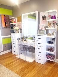 makeup shelves ikea drawers