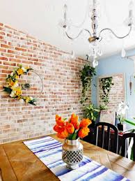 brick accent wall stunning diy results
