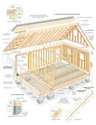 this 3d drawing is part of the extensive and printable plans package that s part of cozy cabin