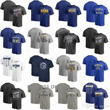 Los Angeles Apparel Size Chart Men Women Youth Los Angeles Rams Pro Line By Branded Super Bowl Liii Super Bowl Liii Bound Flank Champions Safety Blitz Roster T Shirt