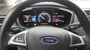 Ford Fusion Lights Ford Fusion Questions Why Do Allthe Lights On My Dash Of