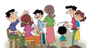 Resultat d'imatges de reuniones de padres de familia en la escuela