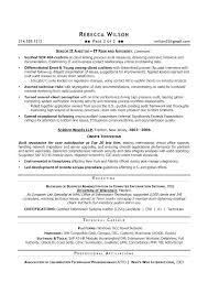 Information System Manager Resume Training Systems Examples