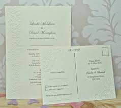 erfly embossed wedding invitations