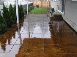 stained concrete patio. Exellent Patio Inside Stained Concrete Patio A