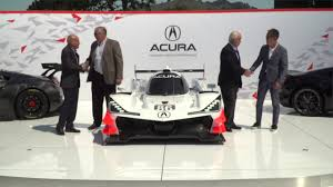 2018 acura arx 05. perfect arx hpd trackside  acura arx05 dpi car reveal in monterey for 2018 acura arx 05