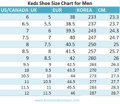 Keds Shoes Size Chart Cm Www Bedowntowndaytona Com