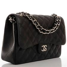 Chanel Black Quilted Caviar Jumbo Classic Double Flap Bag | Black ... & Chanel Black Quilted Caviar Jumbo Classic Double Flap Bag Adamdwight.com