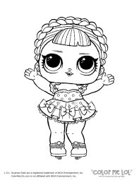 Lol Doll Coloring Pages Baby